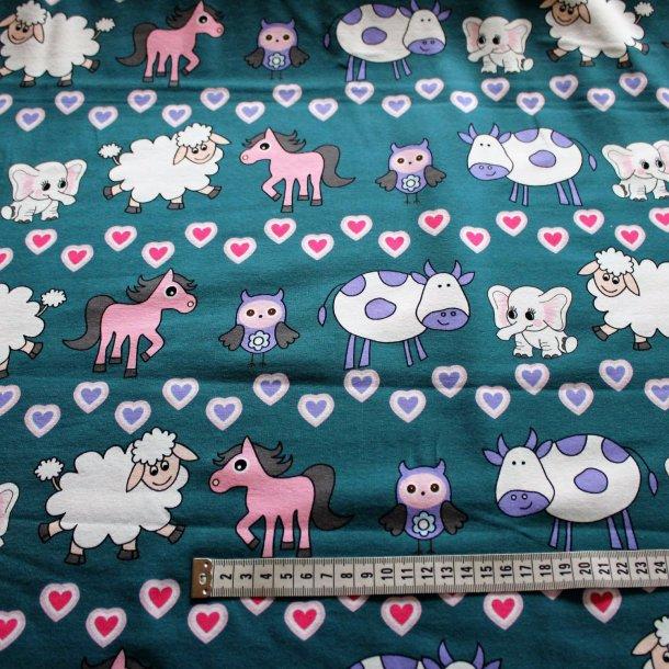 Jersey med print - Søde dyr