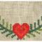Broderikit - Juletræstæppe - Guirlande