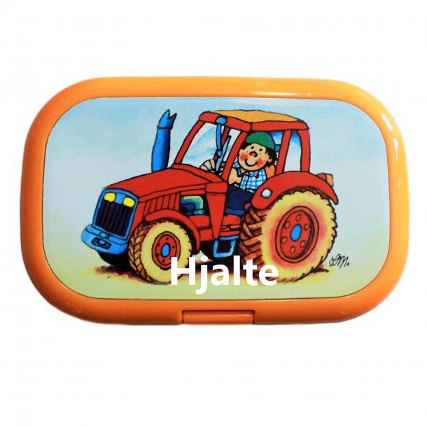 Madkasse Med navn - Traktor