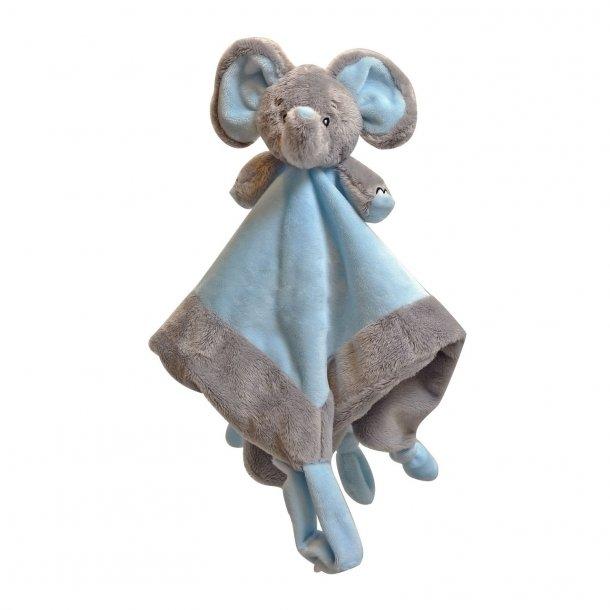 Sutteklud - Elefant Lyseblå