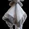 Sutteklud - Elefant grå