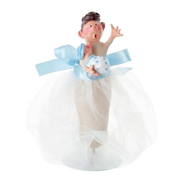 Molly med baby - Blå