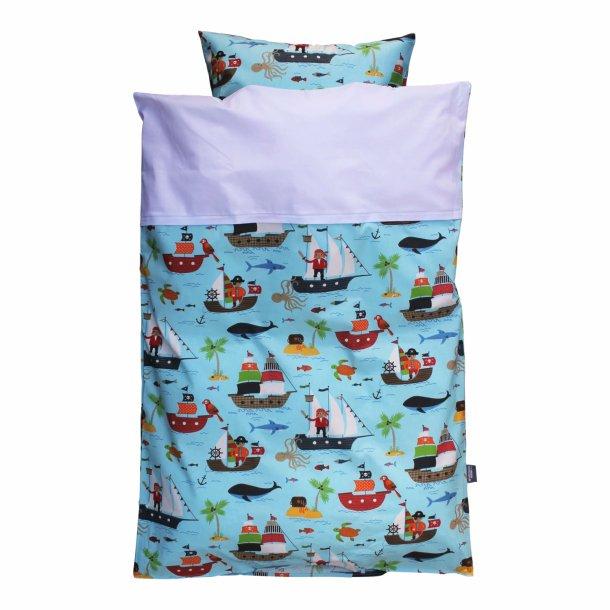 Babysengetøj -  Pirater - Lyseblå