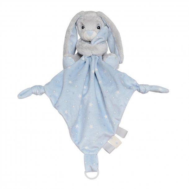 My Newborn kanin stjerne - sutteklud - Lyseblå