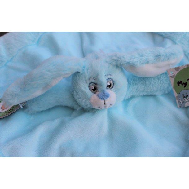 Sutteklud - My baby bunni kanin - Lyseblå