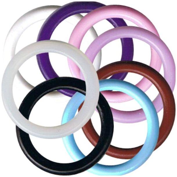 O-ringe - Bland selv farver