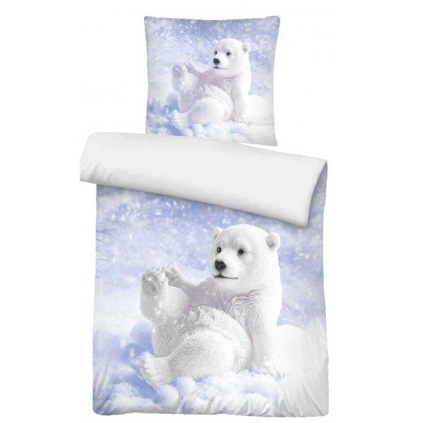 Babysengetøj  - Isbjørneunge -  Lyseblå