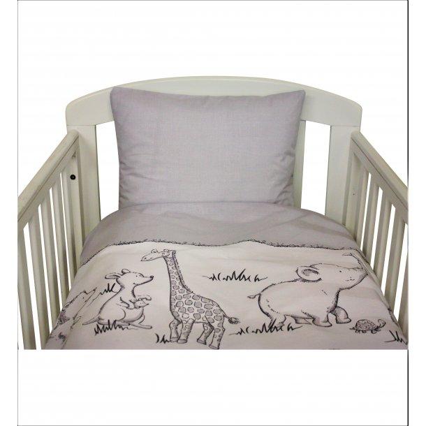 Babysengetøj med søde dyr