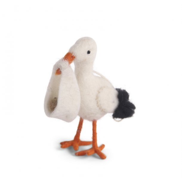 Filtet stork fra En Sif & Gry - Lille
